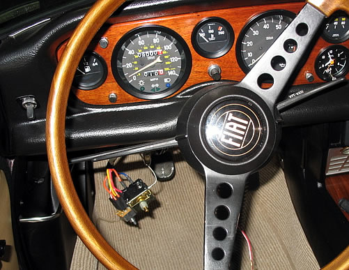 fiat 124 air conditioning faq route the three speed fan switch wiring harness and temperature switch from the left side of the steering wheel over to the evaporator unit being careful to