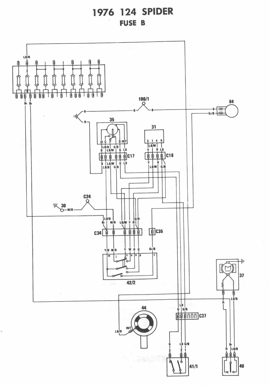 1977 Fiat 124 Wiring Diagram The Portal And Forum Of 78 Ford Bronco Horn 76 Third Level Rh 2 14 13 Jacobwinterstein Com 1978 Spider 1979