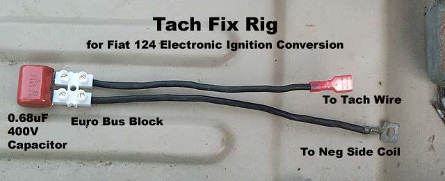 Fiat 124 Common Tachometer Fix