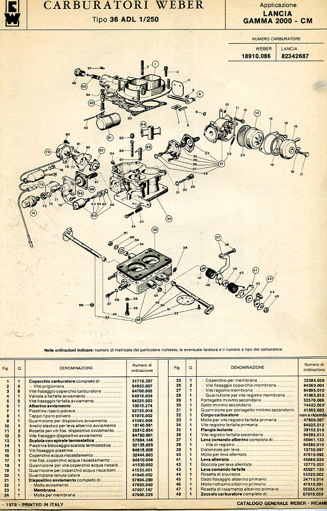 S L furthermore C in addition Adl as well  also Vj Se. on weber carburetor parts diagram