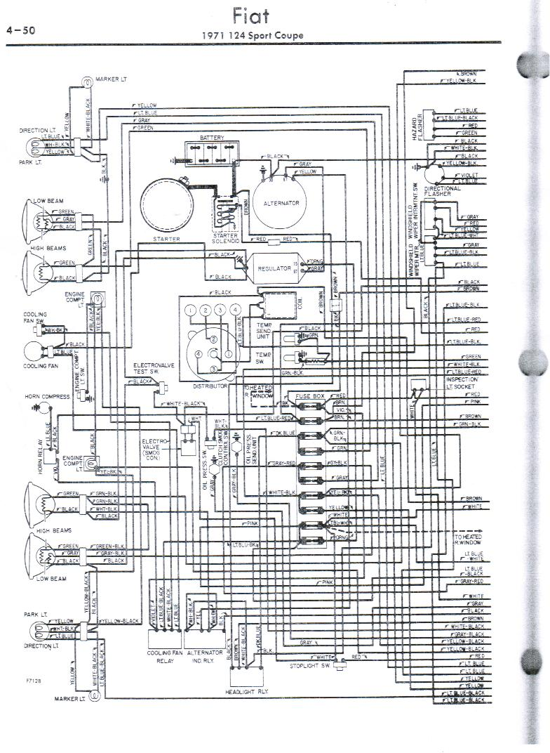 index of wcm personal 71 fiat 124 cp wiring. Black Bedroom Furniture Sets. Home Design Ideas